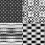 Pixel zwart-wit abstracte neutrale achtergrond Stock Foto's