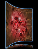 Pixelated раковая клетка Стоковое фото RF