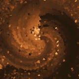 Pixelated a donné au papier peint une consistance rugueuse lumineux Papier numérique de cuivre foncé Bon pour le métier, le cadea illustration libre de droits