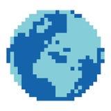Pixelated world Royalty Free Stock Image