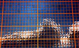 Pixelatedhemel royalty-vrije stock afbeeldingen