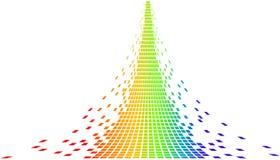 Pixeles del vector Fotos de archivo