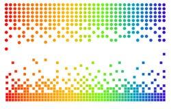 Pixeles del vector Imagen de archivo libre de regalías