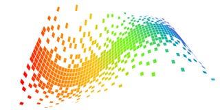 Pixeles del vector Foto de archivo libre de regalías