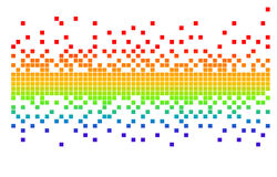 Pixeles del vector Imágenes de archivo libres de regalías