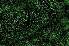 Pixeles en el movimiento E. Foto de archivo libre de regalías