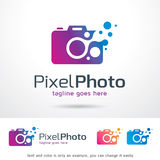 PIXELfotografi Logo Template Design Vector Arkivfoto