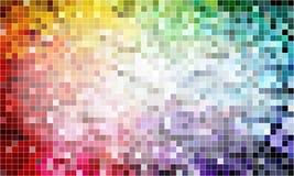 Pixelhintergrundfarben Stockfotografie