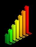 Pixelization vom 2D Vektor Lizenzfreies Stockbild
