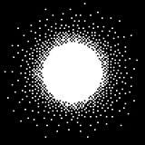 Pixelkunstfahne Stockbild