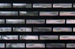 Pixelpatroon van digitale glitch vector illustratie