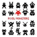 Pixelraummonster vektor abbildung