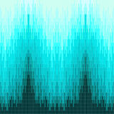Pixels beautiful blue geometric background vector illustration Royalty Free Stock Images