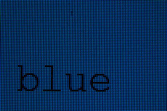 Pixels - Blue Stock Photography
