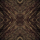 Pixels dark pattern with fine gold structures Stock Photography