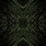 Pixels dark pattern with fine gold structures Royalty Free Stock Photography