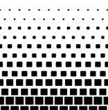 Pixels en baisse dans le style du Mentis Conception abstraite de fond de gradient de mosaïque de pixel abrégez le fond Vecteur Photos libres de droits