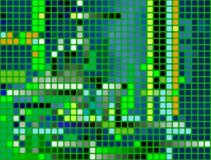 Pixels; seamless decorative ba Stock Image