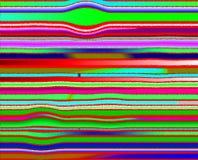 Pixels waves pattern Stock Photos