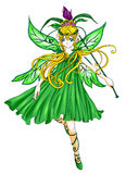 зеленый pixie Стоковые Изображения RF