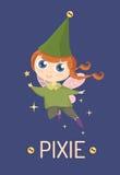 pixie royalty-vrije illustratie