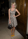 Pixie Lott. At Temperley, on day two of London Fashion Week, 18/02/2012 Picture by: Simon Burchell / Featureflash Stock Photo