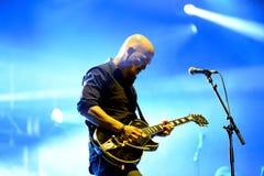 Pixies (αμερικανική εναλλακτική ορχήστρα ροκ) στη συναυλία Στοκ φωτογραφίες με δικαίωμα ελεύθερης χρήσης