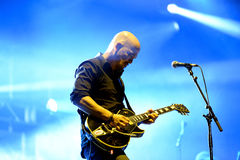 Pixies (American alternative rock band) in concert Royalty Free Stock Photos
