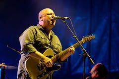 Pixies (American alternative rock band) in concert at Heineken Primavera Sound 2014. BARCELONA - MAY 30: Pixies (American alternative rock band) in concert at Royalty Free Stock Photography