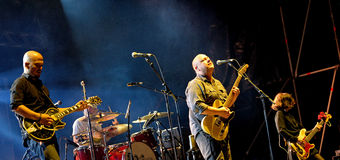 Pixies (American alternative rock band) in concert at Heineken Primavera Sound 2014 Stock Image