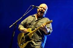 Pixies American alternative rock band in concert at Heineken Primavera Sound 2014 Royalty Free Stock Images