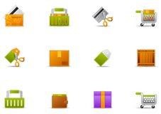 Pixio set #14 - Ecommerce icon Stock Images
