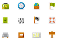 Pixio set #2 - Leisure time & Traveling icon royalty free illustration