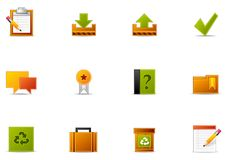 Pixio set #3 - Website and Internet blogging icon Stock Photography