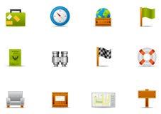 Pixio vastgestelde #2 - Vrije tijd & Reizend pictogram Stock Foto's