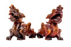 Pixiu Chińska szczęsliwa zwierzęca maskotka zdjęcie stock