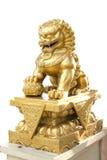 Pixiu mascot animal of china, isolated Stock Photo
