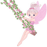 Pixy Fairy on a Swing Royalty Free Stock Images
