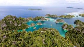 Piyanemo, West-Papoea stock fotografie
