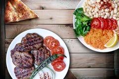 Piyaz é um tipo da salada ou do meze turco Fotos de Stock Royalty Free