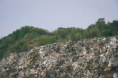 Piyungan Dumping Site. With capacity over 2.4 million cubic meters Piyungan Dumping Site is one of largest garbage dumping site in Yogyakarta stock photo