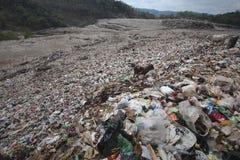 Piyungan-Müllgrube macht viel Abfall Stockbilder