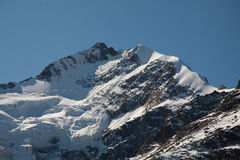 Piz Bernina Royalty Free Stock Photos