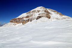 Piz Boe in the Dolomites Stock Photo