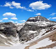 Piz Boe, Sella, Italy Royalty Free Stock Images