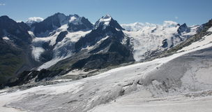 Piz Corvatsch Royalty Free Stock Photography