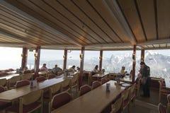 Piz Gloria restaurant, Schilthorn Stock Image