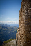 Piz Pordoi, Dolomiti mountains in Italy Royalty Free Stock Images