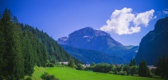 Piz Pordoi, Dolomiti mountains in Italy Stock Image