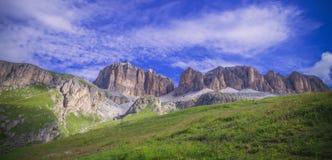 Piz Pordoi, Dolomiti mountains in Italy Royalty Free Stock Photos